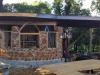 cordwood construction halfway