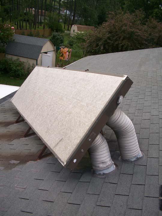 Solar Air Heating Repair